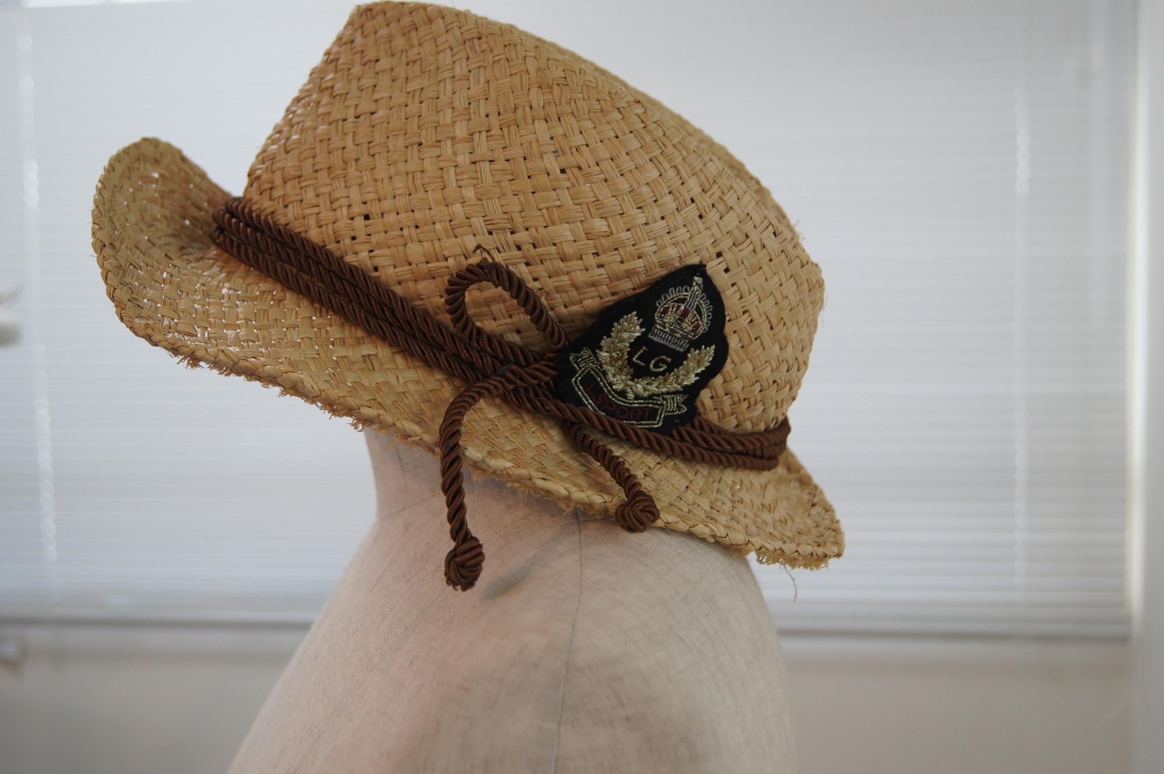 帽子修理前