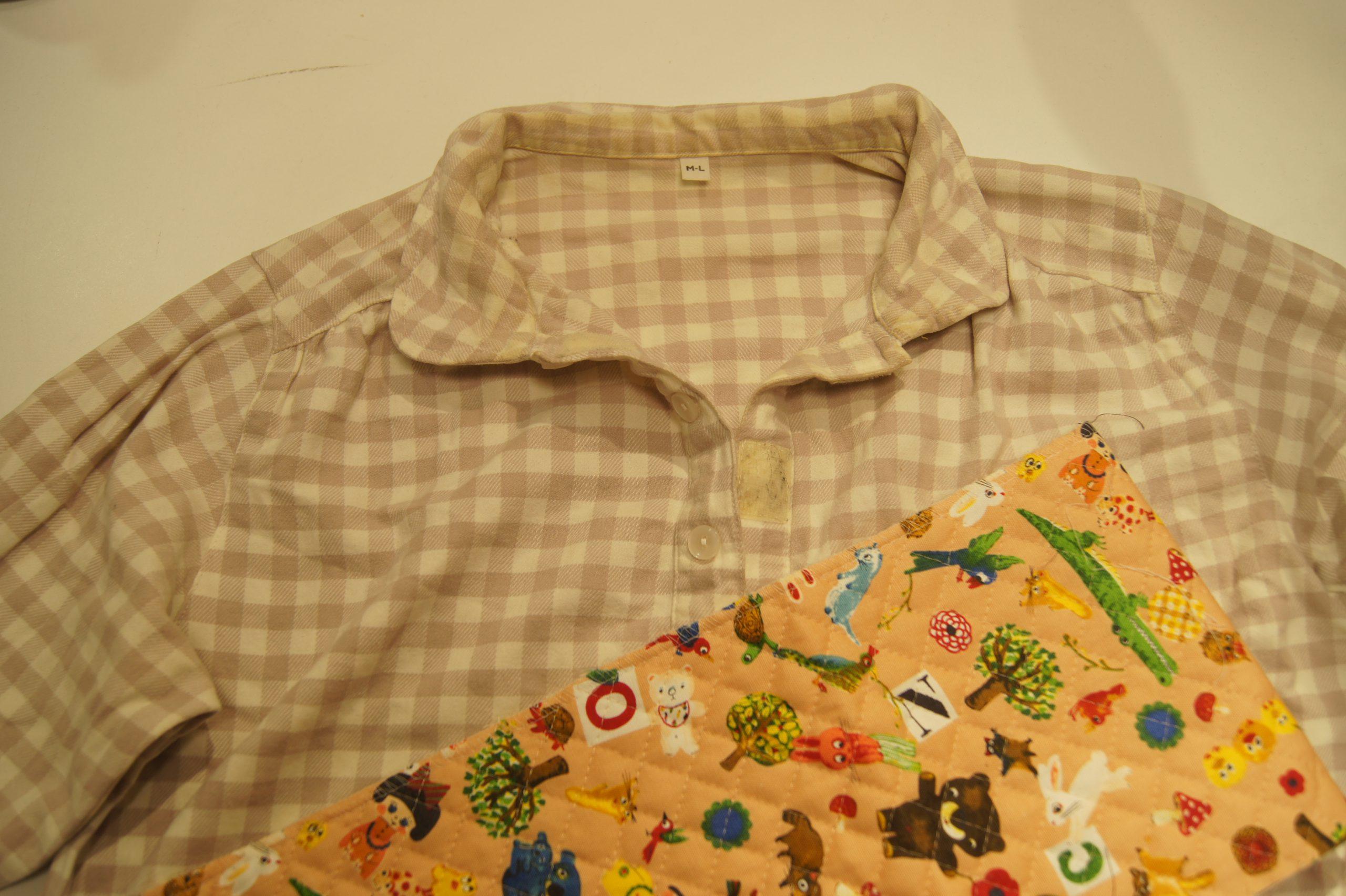 パジャマとキルト